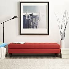 Gallery Of Red Bedroom Bench And Cream Tufted Platform Bed White Bedding  Set Ideas 2017 Accent Trends