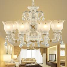 get ations european chandeliers living room lights idyllic restaurant led chandelier with resin carved bedroom modern simple european