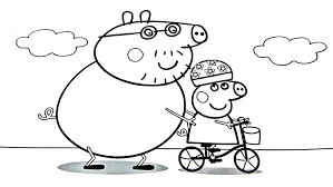 Coloring Pages Peppa Pig Coloring Pages Free Printable Game Up To