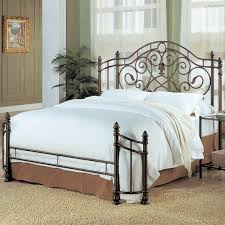 Metal Bedroom Furniture Coaster Violet Queen Iron Bed Value City Furniture Headboard