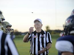 tennessee high school referee shortage causes concern usa today referee jody swearingen of the north middle football officials association flips the coin prior to a
