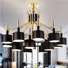 modern led chandelier hammer led pendant light chandeliers lighting 12 15 heads gold and black lighting fixtures globe pendant light light pendants from
