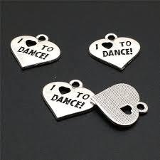 <b>10 Pcs</b> I <b>Love</b> To Dance Charms I <b>Love</b> To Dance Pendants | Etsy