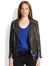 lot78 women s beaten box leather biker jacket