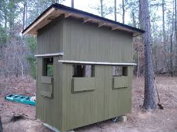shooting house built