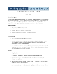 Cover Letter Template Pages Cover Letter Example