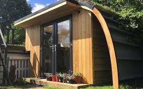 build a garden office. Larch Office Build A Garden ,