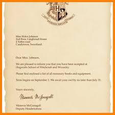 7 8 Hogwart Acceptance Letter Template Nhprimarysource Com