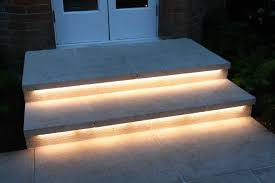 under outdoor stair lights led