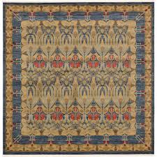 unique loom edinburgh navy blue 10 x 10 square rug