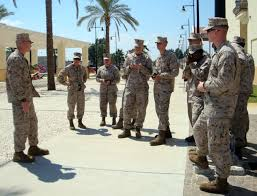 military bearing essay