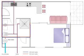 Bathroom Plumbing Layout Drawing Bathroom Trends - Bathroom plumbing layout
