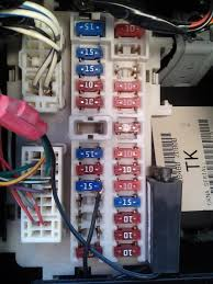 all the brake lights are out on my 2006 nissan altima and my fuse fusibles altima 2003 at 2012 Nissan Altima Fuse Box Location0