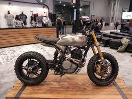 honda flat tracker custom left motorcycle product reviews news