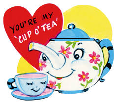 Image result for tea and valentine's day