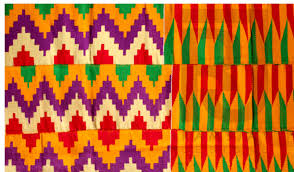 Ghana Fabric Designs Kente Hanwoven Fabric Original Kente Cloth Kente Ghana Kente