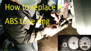 2005 Ford Escape Abs Light On Ford Escape Abs Tone Ring Repair C1233 C1234
