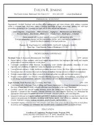 Sample Paralegal Resume With Experience