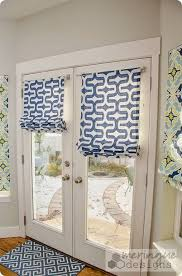 roman blinds on french doors. Modren Roman This Tutorial Will Help You Make Roman Shades For French Doors They Are  Real Shades Meaning They Pull Up With Cording Not Faux Shades For Blinds On Doors U