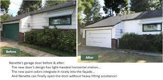 A midcentury modern garage door - made new for Nanette - Retro ...