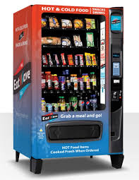 Fresh Vending Machines New Finally A Vending Machine That Serves Hot Steamy Food