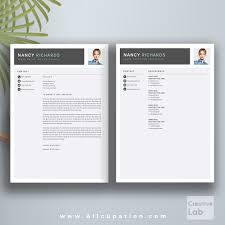 Modern Professional Resume Template Free Download Word Format