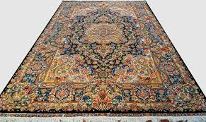 details about fabulous salari design 60 raj persian area rug 7x10 bold color royal blue black