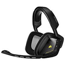 amazon com logitech wireless gaming headset g930 7 1 corsair gaming void wireless rgb gaming headset carbon