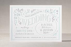 alabaster florals letterpress wedding invitations by jennifer wick Letterpress Wedding Invitations Ma \
