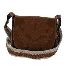 sam edelman womens emma brown leather saddle handbag purse small bhfo 4732