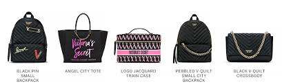 to logo jacquard train case to pebbled v quilt small city backpack