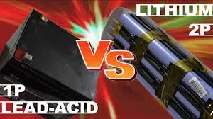 Lead Acid VS <b>Lithium</b> eBike - YouTube