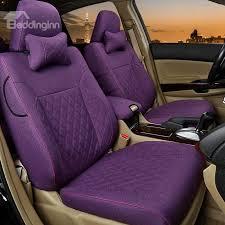 47 simplistic design with classic plaid diamond patterns custom car seat covers
