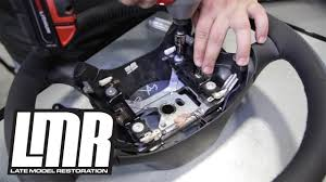 How To Install Mustang SVE FR500 Style Steering Wheel (1994-2004 ...