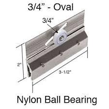m6053 prime line frameless sliding shower door 3 4 inch roller and bracket set