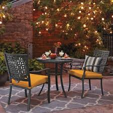 target threshold outdoor dining set. threshold hawthorne 3-piece metal patio bistro furniture set red target outdoor dining h