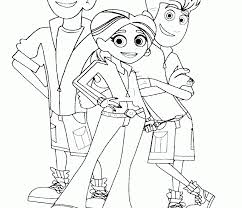 Small Picture Wild Kratts Coloring Pages Coloring Page for Kids