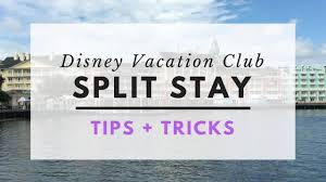 Disney Vacation Club Points Chart 2014 Dvc Split Stay Tips Tricks