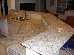 Granite Countertops Giallo Ornamental Granite Countertops - Granite kitchen counters
