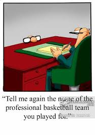 Resume Lie Cartoons And Comics Funny Pictures From CartoonStock Stunning How To Lie On A Resume