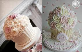 The Prettiest Giant Cupcake Cakes Cake Geek Magazine