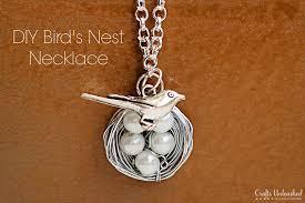 diy bird necklace crafts unleashed 1