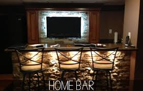 led lighting for the home bar this fall