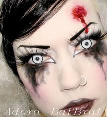 adora batbrat goth make up tutorial copycats dead doll make up you
