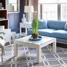 Grasscloth Coffee Table Valentina Grasscloth Coffee Table White Bungalow 5