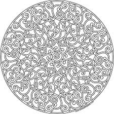 Free Printable Mandala Coloring Pages Fo Mandala To Print Free