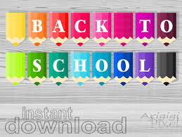 printable welcome home banner template back to school classroom banners printable banners