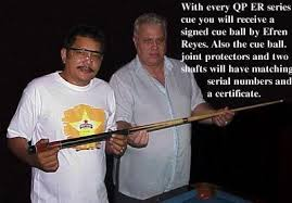 The AnitoKid on Billiards | Philippine Sports: Pool Cues of Efren Bata  Reyes! A Follow-Up Post!
