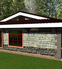 Small Picture House Designs In Kenya Elegant Three Bedroom Bungalow House Plan