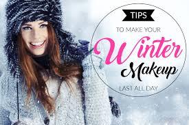 winter makeup looks that last